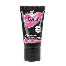 Анальная крем-смазка Creamanal АСС - 25 мл.  Анальная смазка обладает отличными скользящими свойствами, физиологична и не содержит жиров.