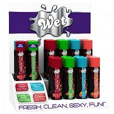 Дисплей Wet Fun Flavors Counterto 16шт+ тестеры 45804wet