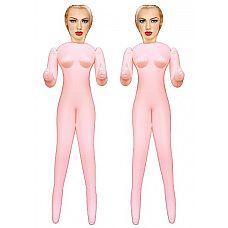 2 Куклы Virgin Twins   Нравится секс втроем? Соблазнительные 2 куклы жаждут нескончаемых ласк от своего повелителя, они обнажились и готовы предоставить свои дырочки к нежным или напористым проникновениям вашего члена.