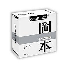 """Презервативы OKAMOTO Skinless Skin Purity   3 39129Ok  """"Новая линейка самого известного японского бренда в оригинальной упаковке."""