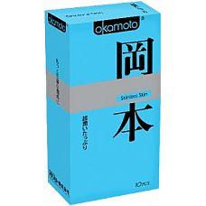 """Презервативы OKAMOTO Skinless Skin Super lubricative   10 89702Ok  """"Новая линейка самого известного японского бренда в оригинальной упаковке."""