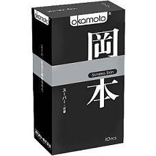 """Презервативы OKAMOTO Skinless Skin Super   10 39150Ok  """"Новая линейка самого известного японского бренда в оригинальной упаковке."""