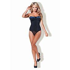 Корсет Kiss me a touch of class, XL, Черный  Восхитительный корсет по достоинству оценят стильные леди.