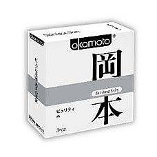 Презервативы OKAMOTO Skinless Skin Purity - 3 шт.  Новая линейка самого известного японского бренда в оригинальной упаковке.