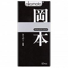 Презервативы OKAMOTO Skinless Skin Super ассорти - 10 шт.  Новая линейка самого известного японского бренда в оригинальной упаковке.