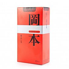 Ультратонкие презервативы OKAMOTO Skinless Skin Super thin - 10 шт.  Новая линейка самого известного японского бренда в оригинальной упаковке.