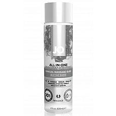 Массажный гель ALL-IN-ONE Massage Oil Sensual нейтральный - 120 мл.  Массажный гель-масло на силиконовой основе JO ALL-IN-ONE Massage Oil Sensual - универсальное средство для чувственных наслаждений и идеального скольжения.