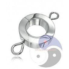 Малый зажим на мошонку с петлями для весов Ball Stretcher W/Attaching of Weights  Малый зажим на мошонку с петлями для весов Ball Stretcher W/Attaching of Weights.