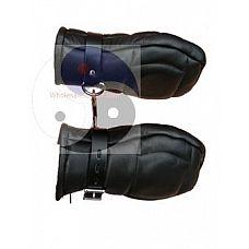 Бондажные перчатки PADDED BONDAGE MITTS  Бондажные перчатки PADDED BONDAGE MITTS. Фиксируются на руках при помощи регулируемых ремешков.