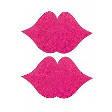 """Пестисы """"Губки"""", Розовый   Губки-поцелуйчики для сосков."""