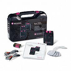 Электростимулятор Mystim Tens Unit 3F Pure Vibes   Аналоговый электростимулятор снабжен 2-мя регулируемыми каналами для непрерывной интенсивности электронного импульса, В зависимости от настроек Вы можете изменять режимы стимуляции от легкого покалывания до чувственный ритмичной пульсации и жесткой вибрации.