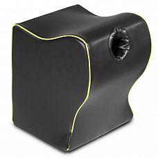 Чёрная подушка для фиксации мастурбаторов от Fleslight - Liberator Retail Fleshlight Top Dog  Потрeнируйся и стань хозяином положения с помощью этой разносторонней подставки Fleshlight для позы  раком , которую Liberator разработал исключительно для мастурбаторов Fleshlight.