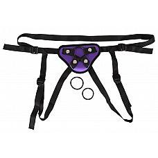 Фиолетовые трусики для насадок с креплением кольцами  Фиолетовые трусики для насадок с креплением кольцами.