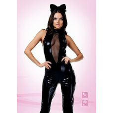 "Костюм ""Чёрная кошка"" - Le Frivole, M/L, Черный  Все котята любят пошалить."