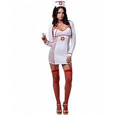 Костюм Заботливый доктор Le Frivole, M/L,   Сексуальная докторша знает, как вылечить пациента от любой болезни.