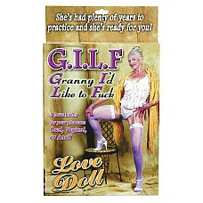 Кукла-бабушка G.I.L.F.    Название куклы говорит само за себя – «бабушка, с которой я хотел бы заняться сексом».