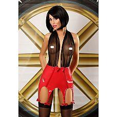 Бэбидолл с сочным поясом Predatory Woman set - Lolitta, S/M, Черный с красным  Комплект, полный роскоши и эротизма.
