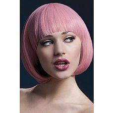 Розовый парик-каре Mia  Теперь не нужно обрезать такие дорогие сердцу длинные волосы, чтобы изменить образ.