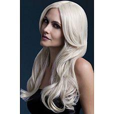 Блондинистый парик с длинной челкой Khloe  Блондинистый парик с длинной челкой Khloe.