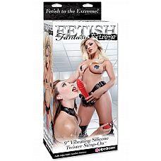 Страпон с вибрацией FF Extreme Twister, 24 см., Красный  Страпон с вибрацией FF Extreme Twister – отличный способ раскрепоститься, ночка с этой секс-игрушкой уж точно будет горячей! Страпон это всего-то две детали – черные регулируемые трусики (носить их стоит плотно «облипающими» кожу, выставляя напоказ свою сексуальность) и красный большой фаллоимитатор с ярко подчеркнутой головкой и несколькими широкими спиралями у ее основания, для остроты ощущений при проникновении во влагалище или анус партнера (партнерши).