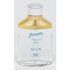"""Спрей для мужчин с феромонами """"Сумерки"""" - Hot   Для тех, кто не хочет изменять любимому аромату, компания «Hot» предлагает спрей с нейтральным запахом."""