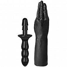 Рука для фистинга The Hand with Vac-U-Lock  Compatible Handle - 42 см.  Крупный по размеру и диаметру фаллоимитатор, подходит для использования с любой системой Vac-U-Lock , имеет полностью совместимое крепление.