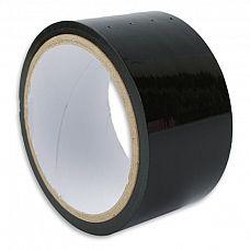 Липкая лента для связывания чёрного цвета  Самый просто способ привязать своего партнера   использовать липкую ленту.