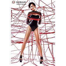 Боди Aimi с длинными рукавами и веревками для связывания  Боди Aimi с длинными рукавами и веревками для связывания.