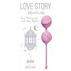 Розовые вагинальные шарики One Thousand and One Nights   Вагинальные шарики One Thousand and One Nights из серии Love Story - это изысканные , шелковистые шарики, которые помогут Вам изучить свое тело и подготовить к незабываемым эмоциям с партнером.