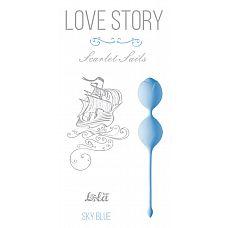 Голубые вагинальные шарики Scarlet Sails   Вагинальные силиконовые шарики Scarlet Sails из серии Love Story - отличная вещь для тех, кто ищет гармонию со своим телом и хочет сохранить женское здоровье.