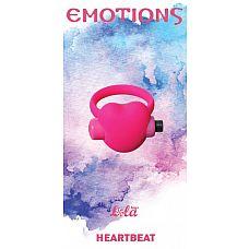 Розовое эрекционное виброколечко Emotions Heartbeat  Эрекционное кольцо Emotions Heartbeat от Lola Toys откроет новые эрогенные зоны у Вас и Вашего партнера, а так же продлит минуты наслаждения.