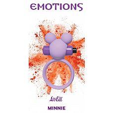 Сиреневое эрекционное виброколечко Emotions Minnie  Эрекционное кольцо Emotions Minnie от Lola Toys откроет новые эрогенные зоны у Вас и Вашего партнера, а так же продлит минуты наслаждения.