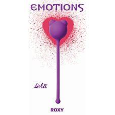 """Вагинальные шарики Emotions Roxy Purple 4002-01Lola  """"Вагинальные шарики Roxy легко и приятно использовать для интенсивной тренировки влагалища и массажа внутренних областей малого таза."""