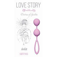 """Вагинальные шарики Love Story Diaries of a Geisha Sweet Kiss 3005-01Lola  """"Парные вагинальные шарики станут надежным «тренером» для женщин, желающих вернуть вагинальным мышцам былые упругость и эластичность."""