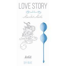 """Вагинальные шарики Love Story Scarlet Sails Sky Blue 3003-04Lola  """"Вагинальные силиконовые шарики Scarlet Sails из серии Love Story - отличная вещь для тех, кто ищет гармонию со своим телом и хочет сохранить женское здоровье."""