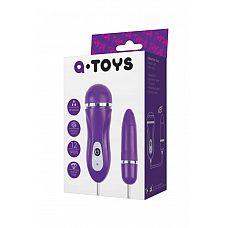 Фиолетовое виброяйцо с выносным пультом управления   Это уникальная секс-игрушка, которая добавит интимным играм нотку пикантности.
