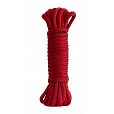Красная веревка Bondage Collection Red - 3 м.  Красная веревка из полиэфира для связывания партнера.
