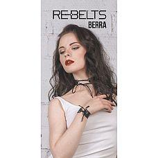 Браслет со шнуровкой Berra Black  Чёрный кожаный браслет с тоненькой шнуровкой. Для самых нежных запястий рук.