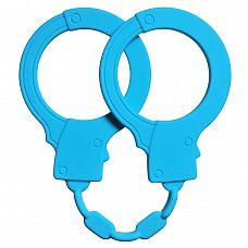 Голубые силиконовые наручники Stretchy Cuffs Turquoise  Хотите добавить новизны в отношения, но не готовы к брутальным экспериментам? Тогда наручники Stretchy Cuffs именно то, что Вам нужно! Выполненные из бархатистого, но прочного медицинского силикона, они обеспечат комфорт и безопасность.
