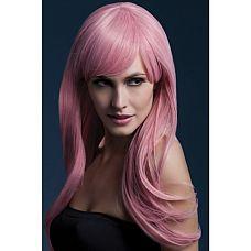 Парик Сладкая Сиенна (светло-розовый) (Fever)   Хочется создать новый образ? Вам поможет парик Сладкая Сиенна светло-розовогоцвета.