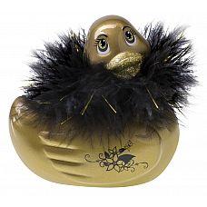 Золотистый массажер-уточка I Rub My Duckie Paris Gold   Париж всегда считался городом потрясающих нарядов и стильных женщин, моды и гламура.