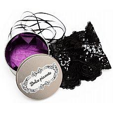 Кружевные черные манжеты Desiderio  Нежный, филигранной работы ажур, обхватывающийPзапястье.