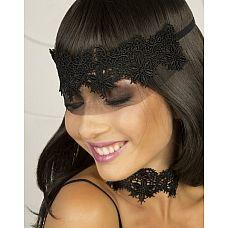 Кружевная маска-диадема Аlbori  Головку королевы должна украшать диадема.