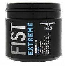 Охлаждающий лубрикант для фистинга Mister B Fist Extreme Lube - 500 мл.  Mister B FIST Extreme Lube - это силиконовый гель-лубрикант, созданный специально для фистинга и больших игрушек.