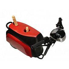 Секс-машина Super Motor в форме мотоцикла  Множество скоростей, управляются с помощью ручки.