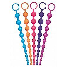 Анальные шарики-бусы Funky Bum - 30 см.  Маленький анальный сюрприз - нитка классических анальных бус.
