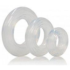 Набор из 3 колец на пенис Premium Silicone Ring Set  Набор колец на пенис из силикона Premium Silicone Ring Set - три эрекционных кольца разного диаметра.