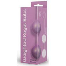 Вагинальные шарики в силиконовой оболочке Weighted Kegel Balls  Поразить мужчину своими умениями так просто, если у вас есть эти нежные на ощупь вагинальные шарики.