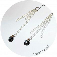 Украшение для груди с кристаллами Swarovski  Изысканное украшение для груди.
