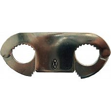Оковы для пальцев Thumb Cuffs  Похоже на странные наручники, но нет, это самые настоящие металлические оковы для пальцев, имеющие зубцы с внутренней стороны.
